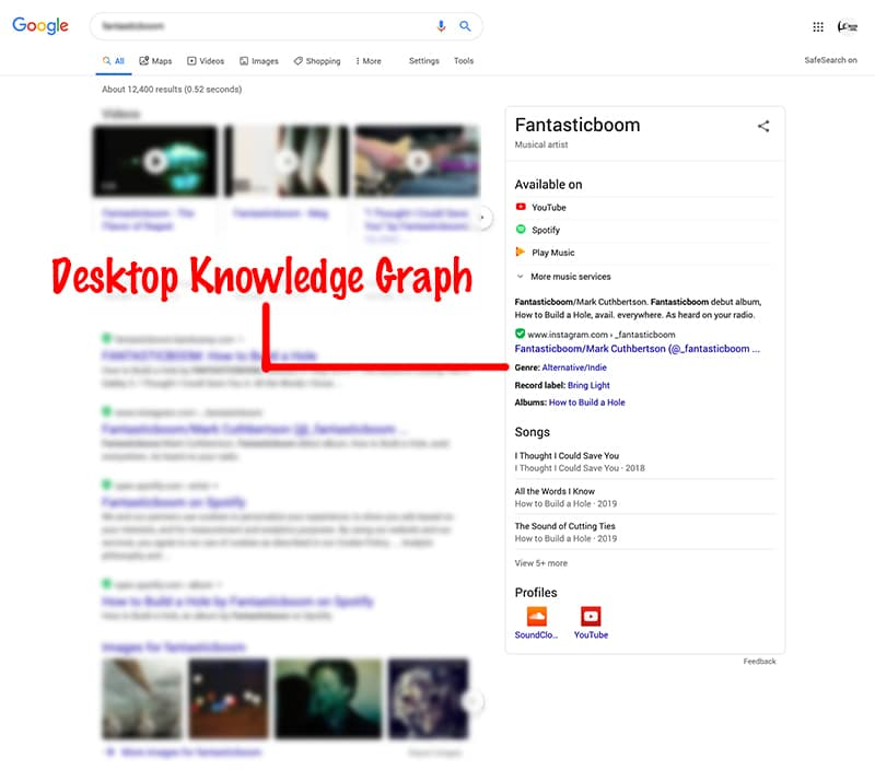 desktop knowledge graph