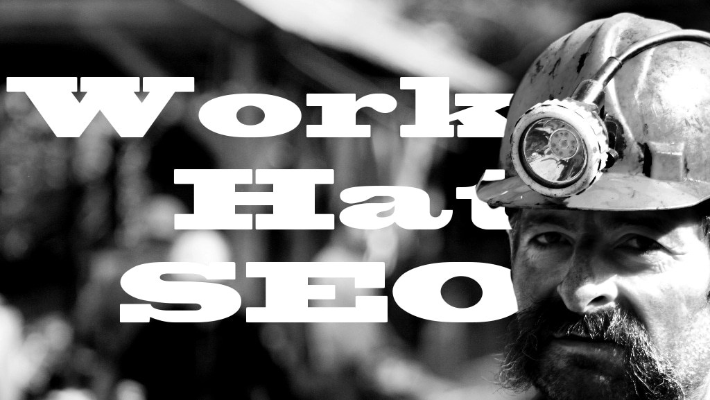 work hat seo hard hat miner